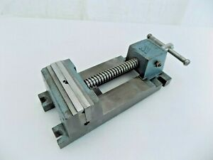 Wilton Quick Acting Drill Press Vise 4 1 2 V Grooved Jaw 141025 made In Usa
