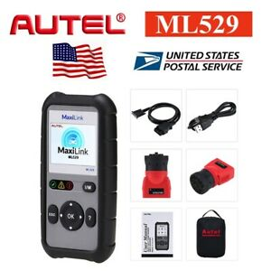 Autel Ml529 Fault Code Reader Diagnostic Scantool Obdii Obd2 Ford Clear Code