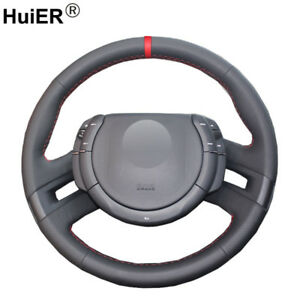 For Citroen C4 Picasso 2007 2013 C Quatre Hand Sewing Car Steering Wheel Cover