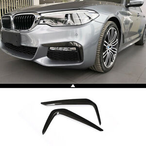 Car Front Fog Light Frame Trim Decorative Accessories For Bmw 5 Series G30 2018