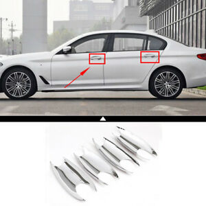Car Outside Door Handle Bowl Cover Trim Accessories For Bmw 5 Series G30 2018 19