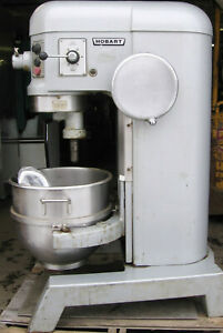 60 Quart Hobart Mixer With Hook 3 Phase 200 240 Volt 2 Horsepower Motor W Hook