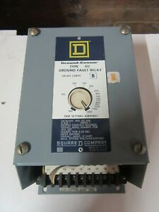 Square D Gc 100 Type Gc Ground Fault Relay 120 Vac Input 100 1200 Amps Sensor