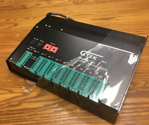 Gtek 7956 Eprom Programmer W Trice Z 80 Manuals And Datasheets New