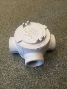 Crouse Hinds Guat69sa 2 Explosion Proof Tee