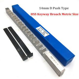 14mm D Push Type Keyway Metric Size Hss W Shim Cutter For Cnc Cutting Machine