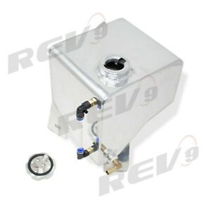 Rev9 Aluminum Coolant Expansion Overflow Tank For 82 92 Chevy Camaro 3rd Gen