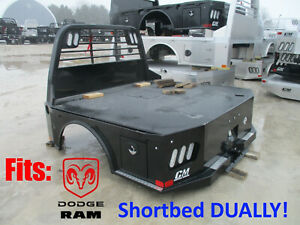 Dodge Dually Short Bed Cm Sk Flatbed Replacement Body 246721 Ram Mega Cab