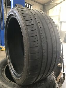 Set Of 2 Used Tires P255 35r18 Ironman Imove Gen 2