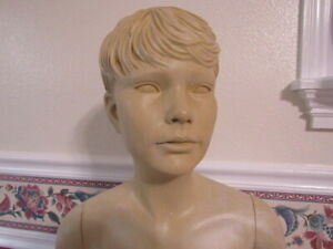 Vintage Greneker Mannequin Pre Teen Kid Nice Shape From Disney 52 Tall