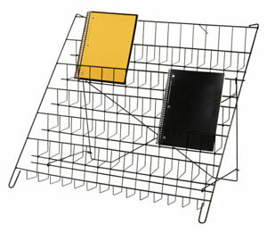 6 tier Black Wire Countertop Rack 22 h X 29 w X 18 d