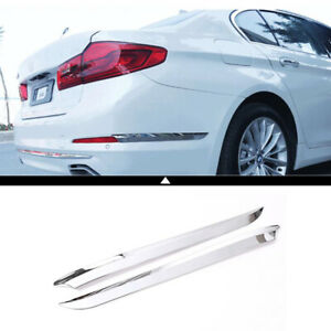 Car Post Wrap Decoration Cover Trim Accessories Chrome For Bmw 5 Series G30 2018
