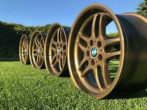 Bmw Style 37 Wheels Rims E38 E39 E34 E31 E60 M3 M5 M6 540i Bronze Reproduction