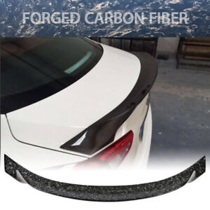 Fits 14 19 Maserati Ghibli Aspec Style Trunk Spoiler Wing Forged Carbon Fiber