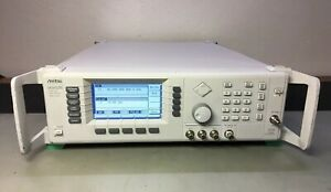 Anritsu 68369a nv Synthesized Sweeper Signal Generator 10 Mhz 40 Ghz 2b 11 Cal d