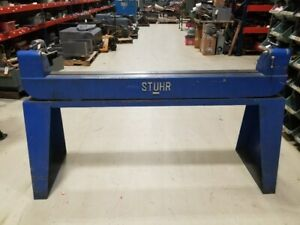 Stuhr 12 X 60 bench Center W Stand excellent Used Condition