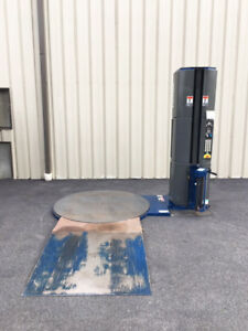 Lantech Q series Semi automatic Pallet Stretch Wrapper With Ramp Model Q 250