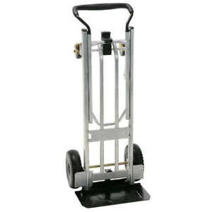 Cosco 3 in 1 Folding Series Hand Truck Cart Platform Cart With Flat free Whee