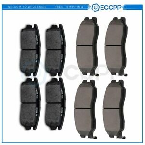For Chevy Equinox Captiva Sport Suzuki Xl 7 Front And Rear Brake Ceramic Pads