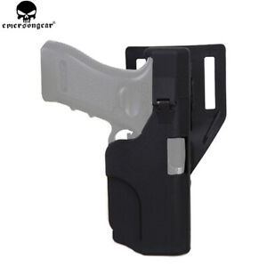Tactical Right Hand Quick Release Pistol Gun Holster for Glock 171819232632