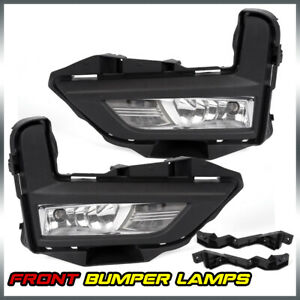 For Nissan 2017 2018 Rogue S Sl Sv Fog Light Lamp Set With Switch Bezel Wires
