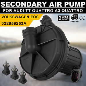 Sp Secondary Air Pump For Audi A3 Tt Quattro Vw R32 Eos Golf Gti 022959253a Top