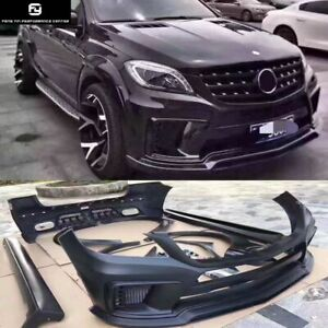 Frp Car Body Kit For Mercedes Benz W164 Ml350 Ml400 Wald Style 12 16 Auto Supply