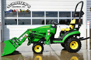 2015 John Deere 1 Family Sub compact Tractors 1025r 4wd Used