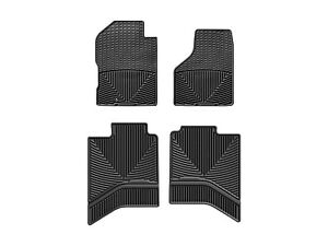 Weathertech All Weather Floor Mats For Dodge Ram Truck 02 12 1st 2nd Row Black