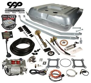 57 Belair Fitech 30003 Ls Efi Fuel Injection Gas Tank Fi Conversion Kit 30 Ohm