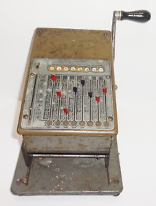 Vintage Adding Counting Machine By Todd Protectograph Company Antique