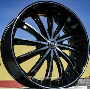 22 Inch Borghni 19 Bmf 4 Wheels 4 Tires 5x4 5 5x114 3 Fits Awd Charger