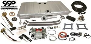 67 68 Camaro Fitech 30003 Efi Fuel Injection Gas Tank Fi Conversion Kit 90 Ohm