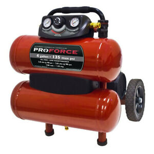 Proforce 4 Gal Dolly Air Comp W Accessory Kit Vkf1080418 New
