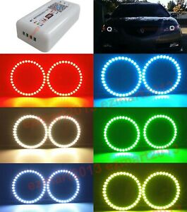 Wifi Rgb Led Halo Rings Fit For Acura Tl 2004 2006 Headlight Led Angel Eye Drl