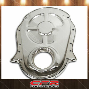 Timing Chain Cover Fits Chevy Bb 396 454 Big Block Engine Chrome Finish