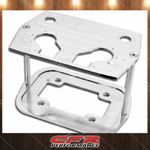 Ball Milled Polished Billet Al Optima Group 34 78 Battery Tray Chevy Ford Mopar