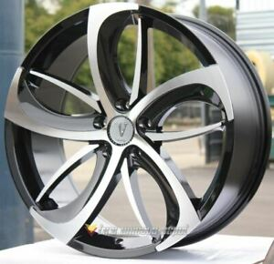 22 Inch Velocity 26 Bmf Wheels Tires Fits Camaro 5x120 38 High Offset