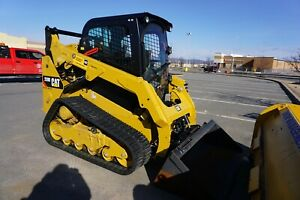 2018 Caterpillar 259d High Flow Two Speed Excellent Condition
