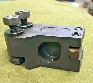 Hardinge Omniturn Cc 14 Tool Holder W T nuts Cnc Adjustable Turret Metal Lathe