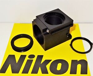Nikon Empty Fluorescent Microscope Filter Block For E400 600 Te200 300