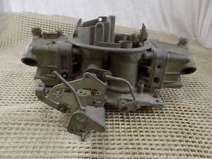 Rare Holley 6710 800 Cfm Spreadbore Mechanical Double Pumper Carburetor