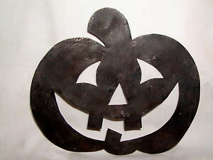 Primitive Early 17th Century Style Tin Jack O Lantern Pumpkin Quilting Template