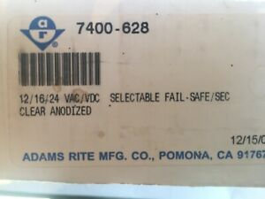 Adams Rite 7400 628 Electric Strike 12 16 24vac Selectable Failsafe secure 1 Qty