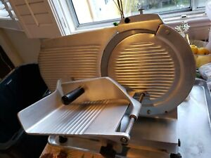 Let Go Chefmate Globe Model Gc12 Meat Cheese Daily Slicer 12 Medium duty 1 3 Hp
