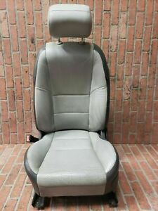 2003 2008 Jaguar S Type Front Left Driver Side Seat Gray Leather Oem