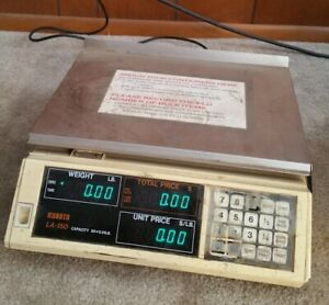 Kubota La 150 Digital Deli Meat Food Scale 50 Lbs Japan Trade Legal Weights
