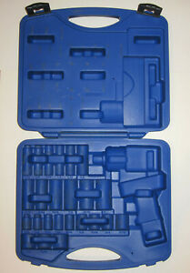 Cornwell Tools Cbpi2kit Bluepower Impact Wrench Socket Plastic Case