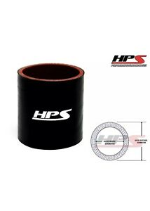 Hps 3 1 8 80mm 4 Ply Silicone Intercooler Turbo Intake Pipe Coupler Hose Black