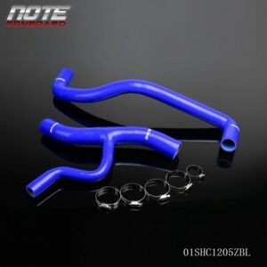 Blue For 1996 2004 Ford Mustang Gt 4 6l V8 Silicone Coolant Radiator Hose Kit